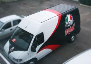 decorazione furgone AGV