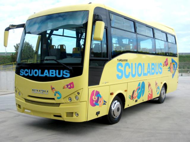 decorazione scuolabus