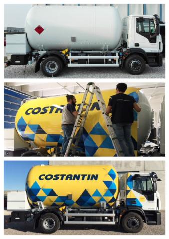 decorazione camion